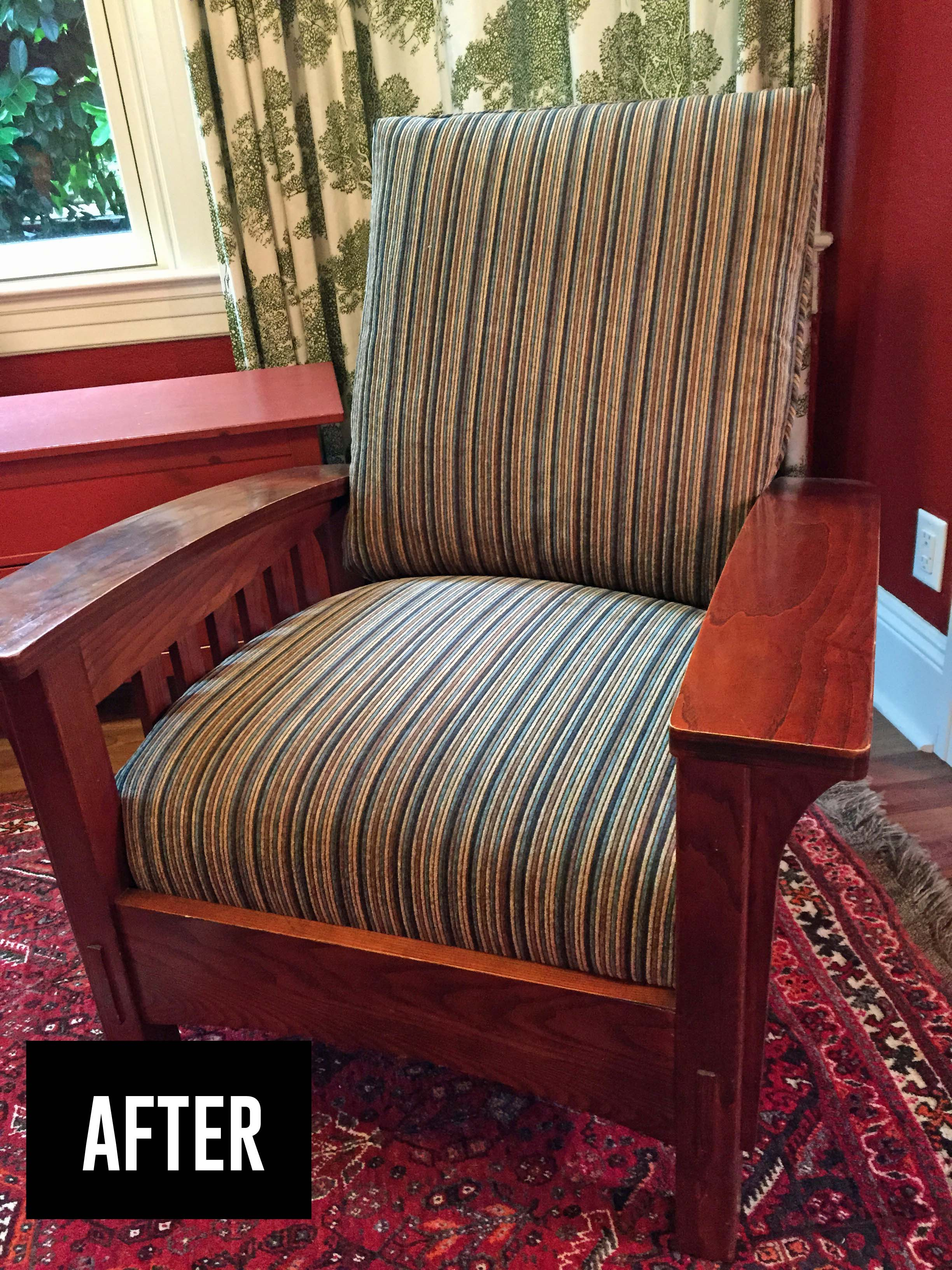 Success with my First Upholstery Project