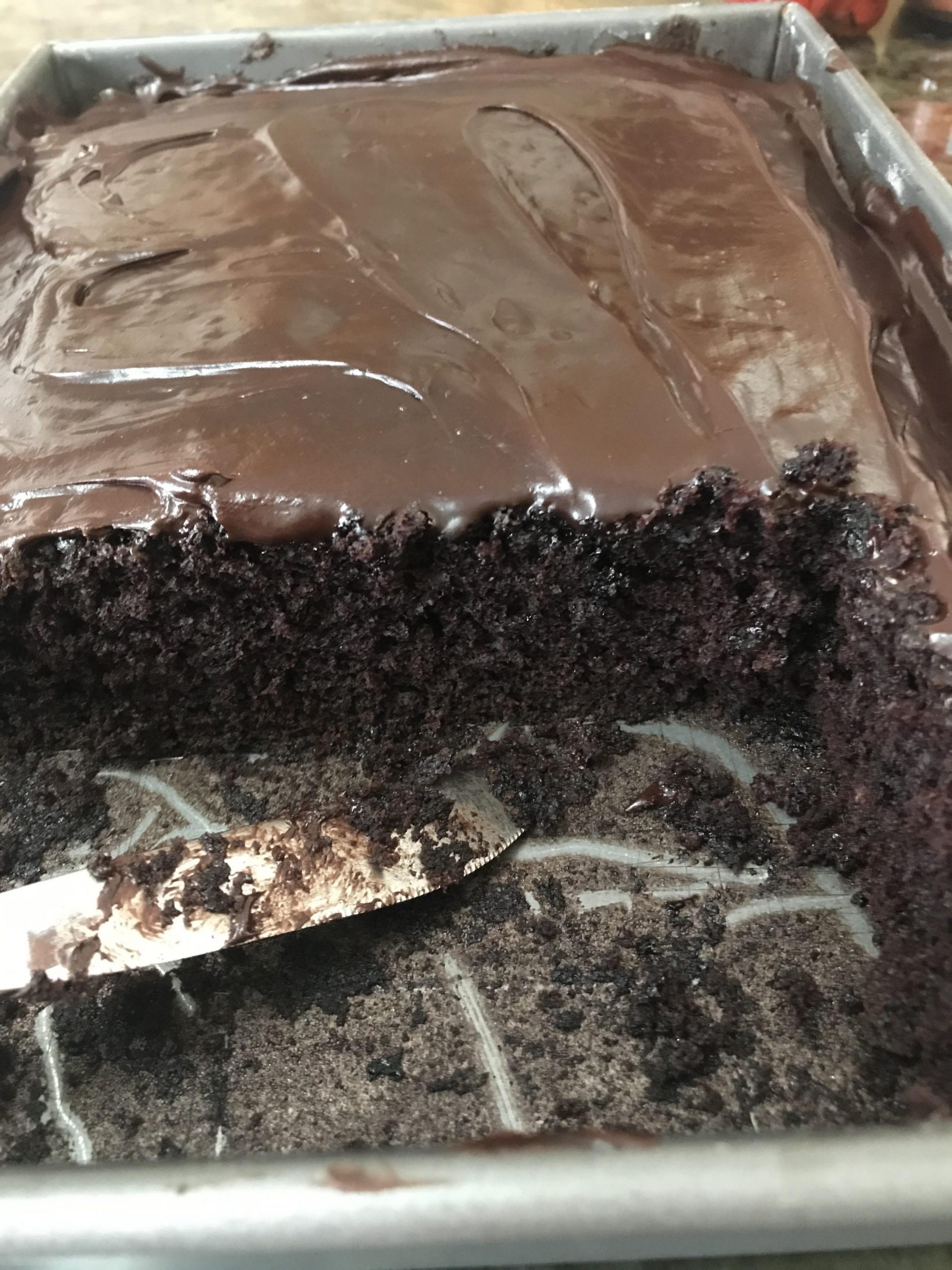 Chocolate Vinegar Cake